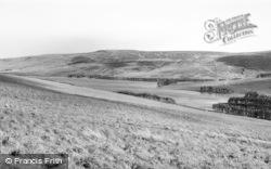 Byrness, Catcleugh Reservoir c.1965
