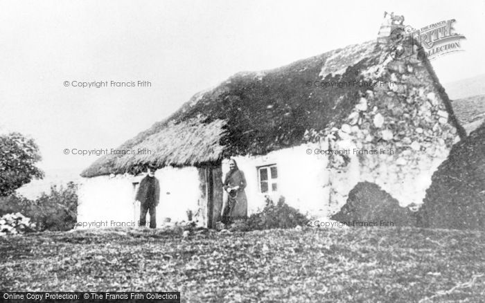 Photo of Cabrach, A Cottar House, Balloch c.1900