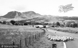 Cadair Idris, From Cross Foxes c.1960