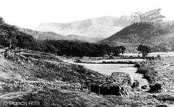 Cadair Idris, From Dolgellau Road 1955