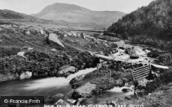 Cadair Idris, From Near Gwernan Lake Hotel c.1910