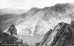 Cadair Idris, Summit From Saddle 1955