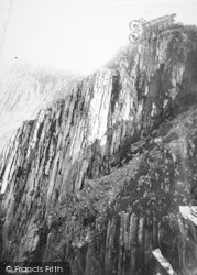 Cadair Idris, The Precipice, On The Saddle 1892