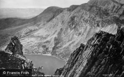 Cadair Idris, The Summit From Saddle c.1900