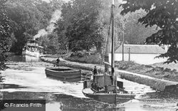 Cadder, Forth And Clyde Canal c.1900