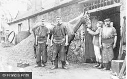 Cadder, The Old Smithy c.1900