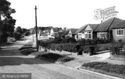 Caddington, Manor Road c.1960