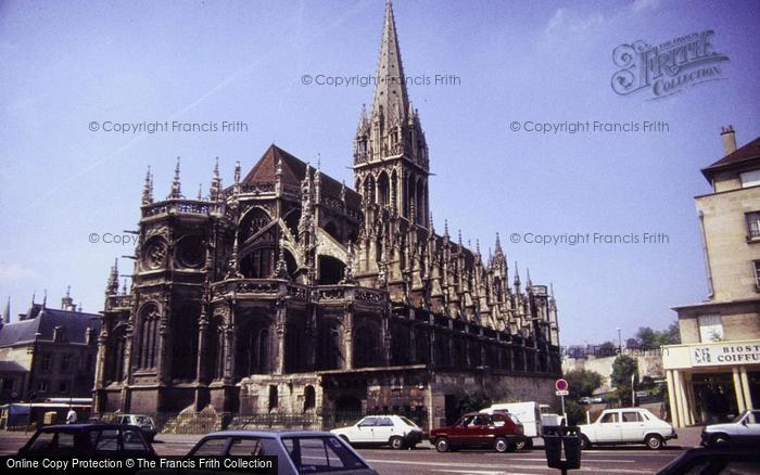 Photo of Caen, St Peter's Cathedral 1984