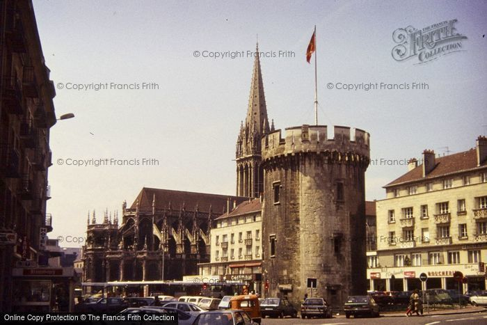 Photo of Caen, Tower Of Old Wall 1984