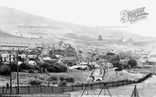 Caerau, general view c1955
