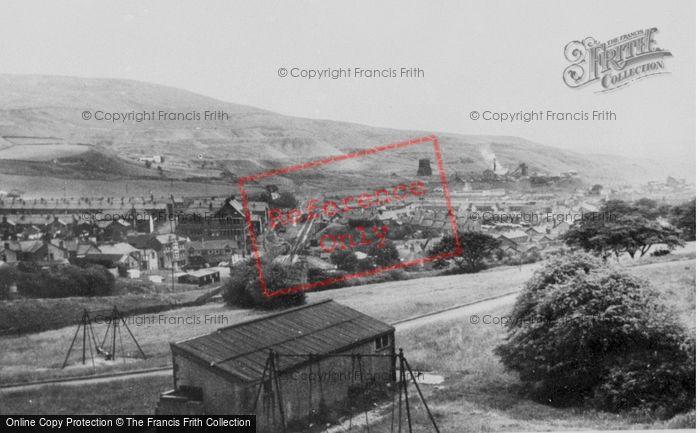 Photo of Caerau, General View c.1955