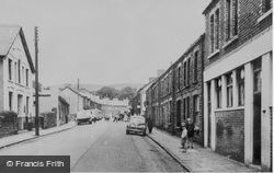 Hermon Road c.1955, Caerau
