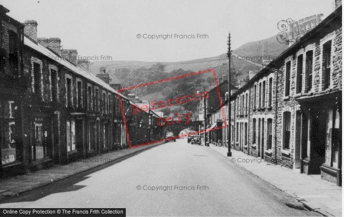 Photo of Caerau, Main Road c.1955