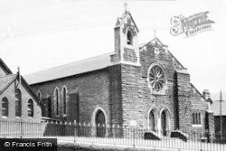Caerau, St Cynfelyn's Church c.1955