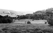 Caerau, Tennis Courts and Pavilion c1955