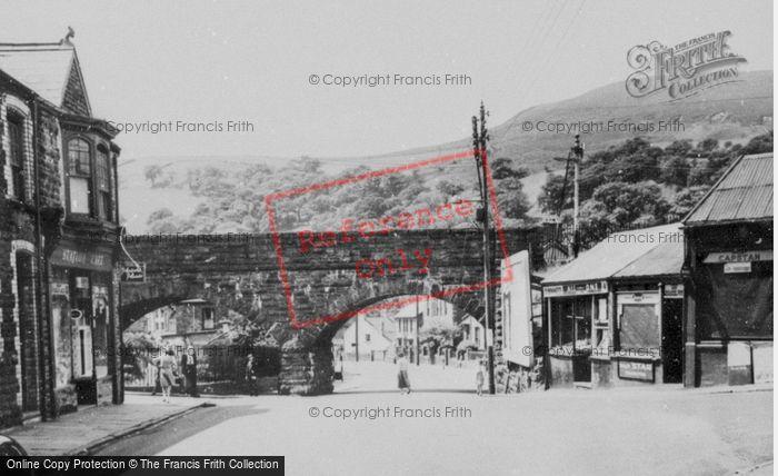 Photo of Caerau, The Bridge c.1955