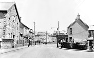 Caerau, the Square c1955