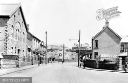 Caerau, The Square c.1955