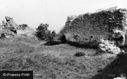 Caergwrle, Castle Ruins c.1965