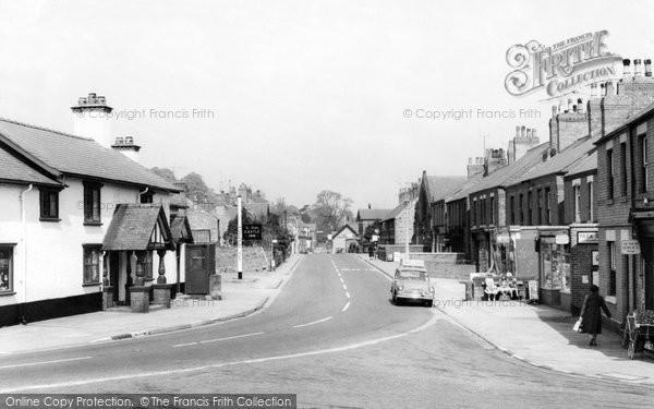 Caergwrle, High Street c1955