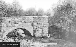 Caergwrle, Packhorse Bridge c.1955
