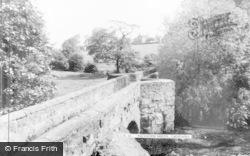 Caergwrle, Packhorse Bridge c.1965