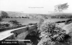 Caergwrle, Pontydelyn Bridge c.1965