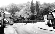 Caergwrle, Post Office Corner c1965