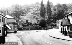Caergwrle, Post Office Corner c.1965