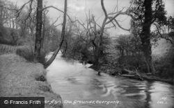 River Alyn c.1955, Caergwrle