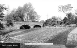 Caergwrle, The Bridge And Gardens c.1965