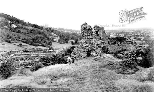 Caergwrle, the Castle c1955