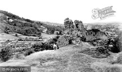 Caergwrle, The Castle c.1955