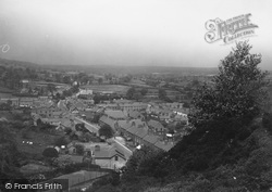 Caergwrle, View From The Castle c.1939