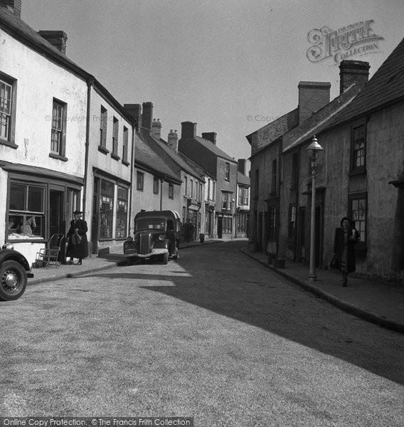 Photo of Caerleon, Cross Street 1949, ref. c4016