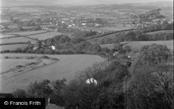 Caerleon, General View From Christchurch 1950