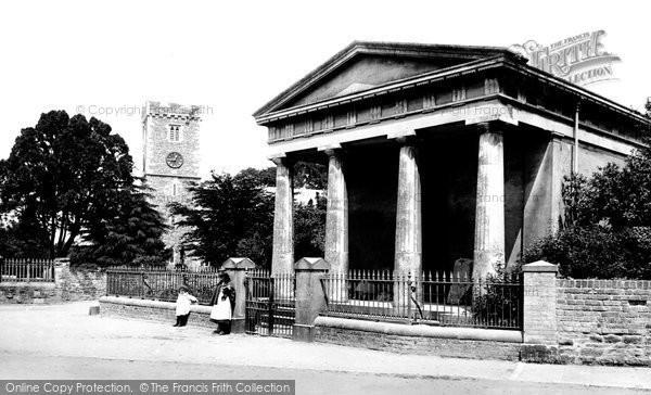 Photo of Caerleon, Museum and Church 1899, ref. 43654