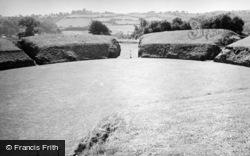 Caerleon, Remains Of Roman Amphitheatre 1949