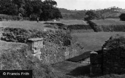 Caerleon, Remains Of The Roman Amphitheatre 1955