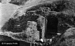 Caerleon, Remains Of The Roman Barracks 1955
