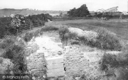 Caerleon, Site Of Amphitheatre 1910