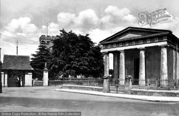Photo of Caerleon, Church and Museum 1931, ref. c4025