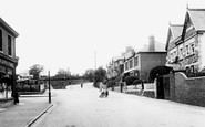 Caerleon, Station Approach 1910