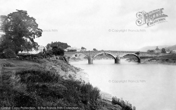 Photo of Caerleon, the Bridge 1893, ref. 32644