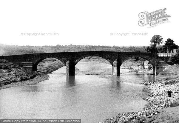 Photo of Caerleon, the Bridge c1955, ref. c4017