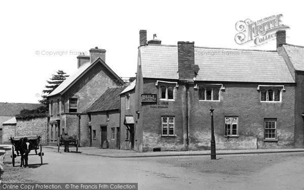 Photo of Caerleon, the Bull Inn 1899, ref. 43660x
