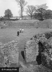 Caerleon, The Roman Amphitheatre 1954