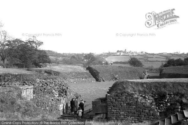Photo of Caerleon, the Roman Amphitheatre 1954, ref. c4030