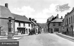 Caerleon, The Square And War Memorial c.1930