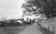 Caerleon, the Village from the Amphitheatre 1954
